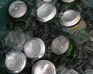swap your soda or soft drink for something healthy